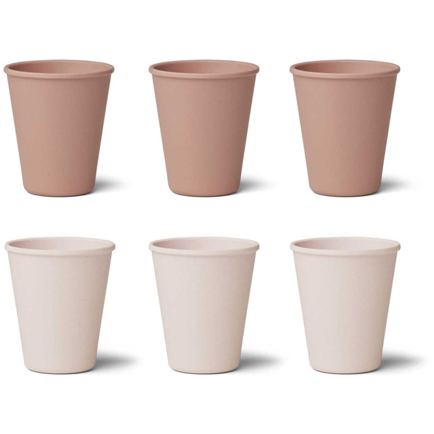 Bamboo Cup Gertud - 6 Pack | Coral Blush Mix