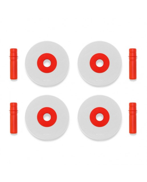 MODU 4 x Foam Wheels | Red