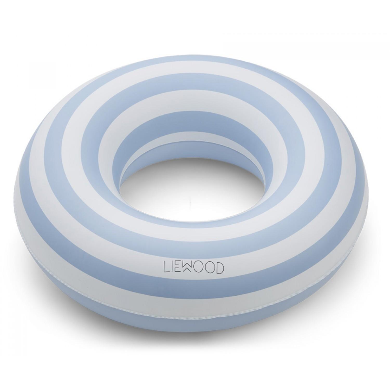 Baloo Swim Ring |  Sea blue/creme de la creme