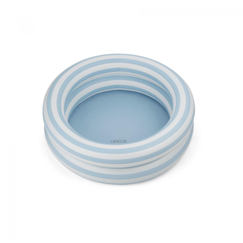 Leonore Pool | Sea blue/creme de la creme