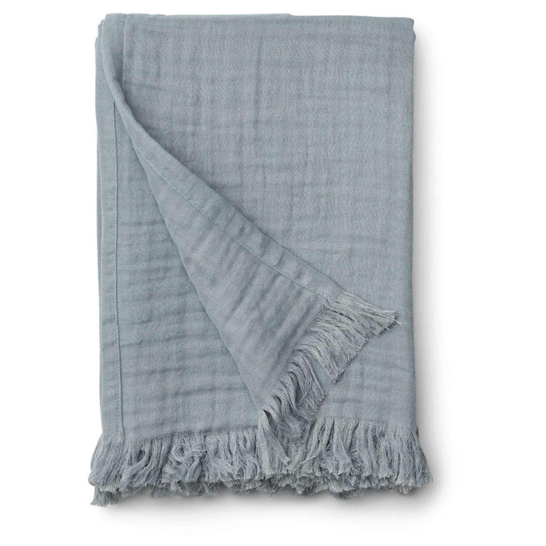 Magda muslin blanket | Sea blue