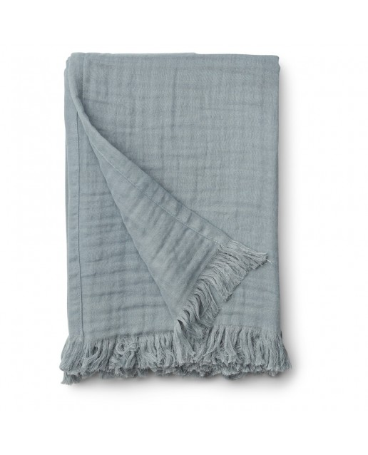 Magda muslin blanket | Sea blue