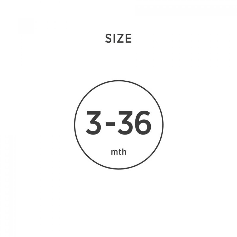 HEVEA Orhodontic Pacifier | Fudge 3-36 Months