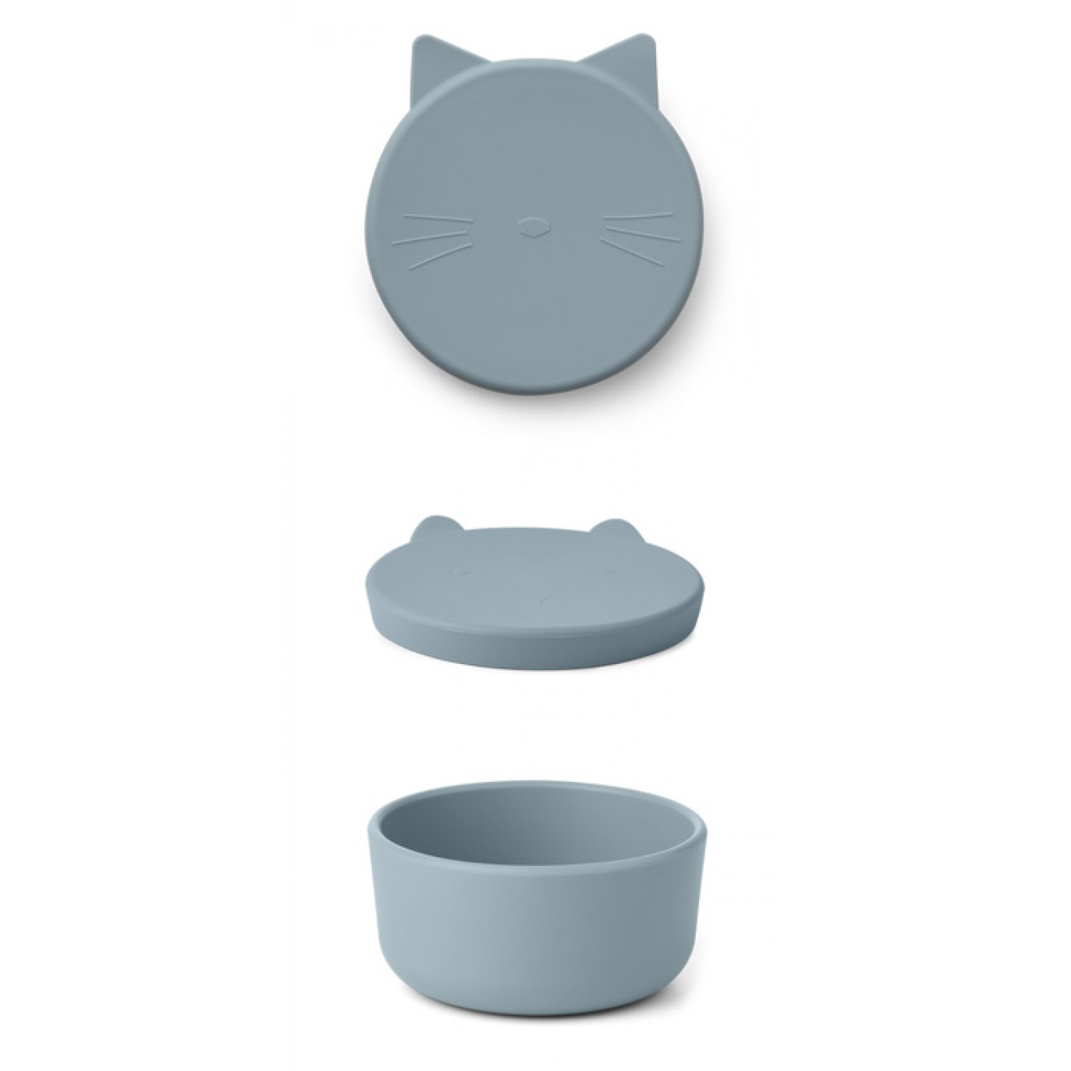 Cornelius Snack Box Medium - Cat sea blue
