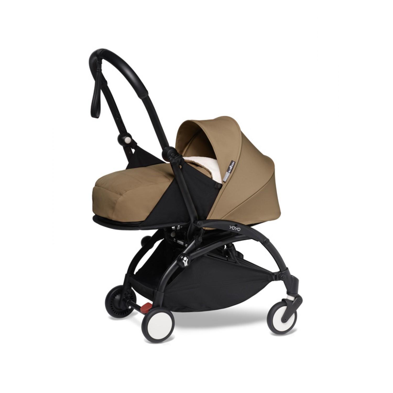 BABYZEN stroller YOYO2 0+  | Black Chassis Toffee