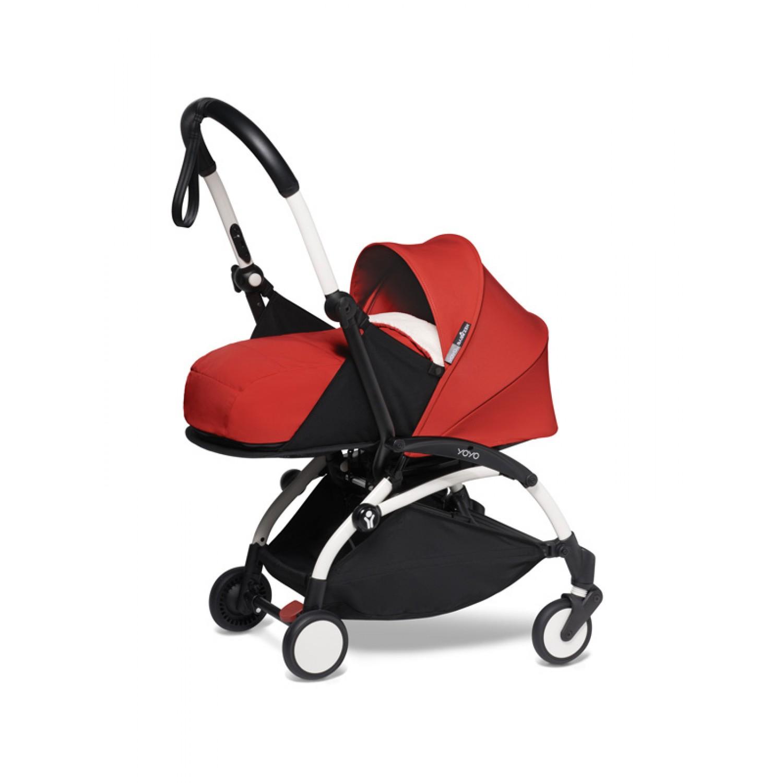 BABYZEN stroller YOYO2 0+ | White Chassis Red