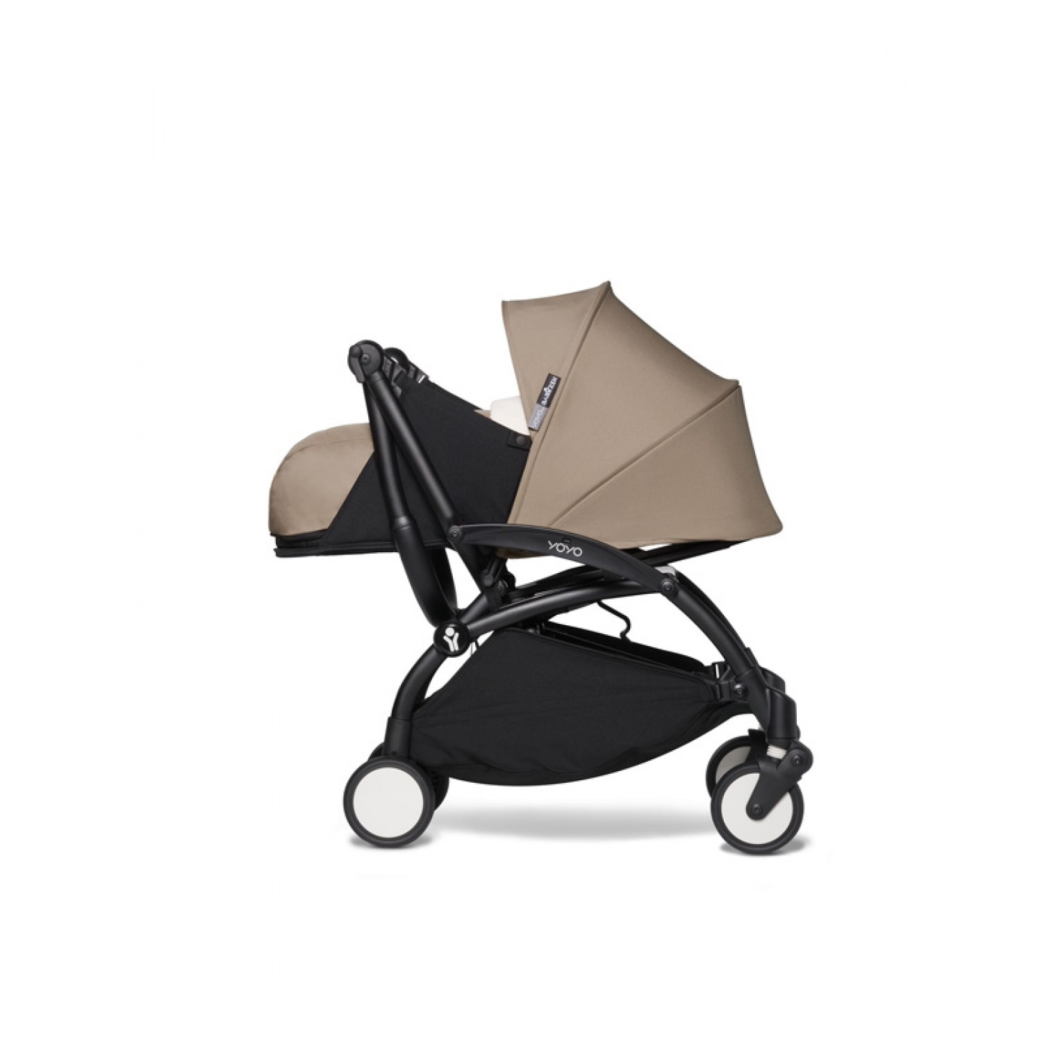 BABYZEN stroller YOYO2 0+ | Black Chassis Taupe