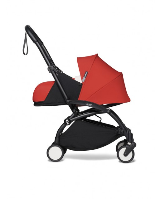 BABYZEN stroller YOYO2 0+  | Black Chassis Red