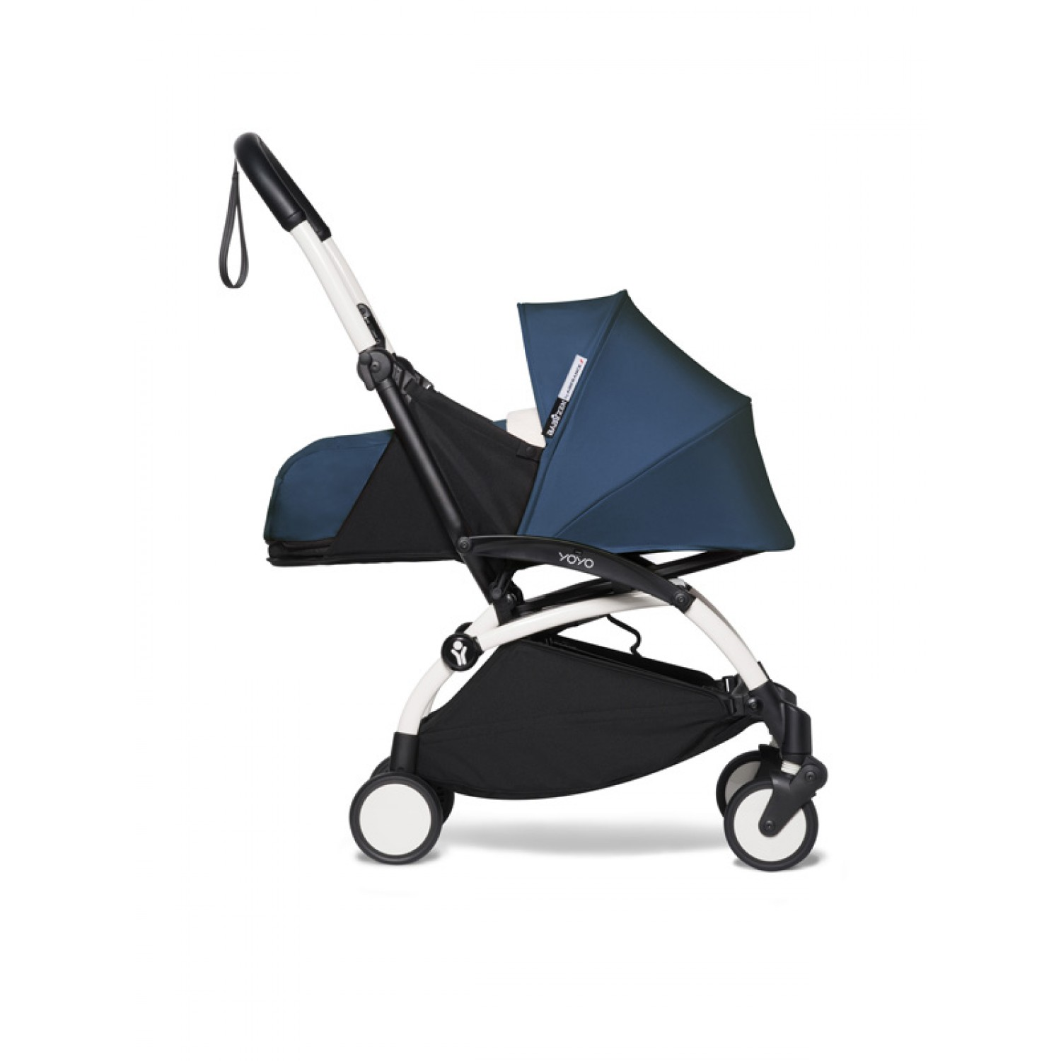 BABYZEN stroller YOYO2 0+ | White Chassis Air France