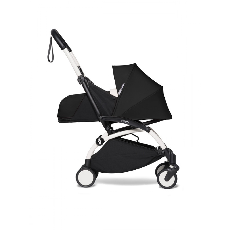 BABYZEN stroller YOYO2 0+   White Chassis Black