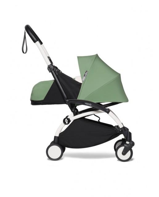 BABYZEN stroller YOYO2 0+  | White Chassis Peppermint