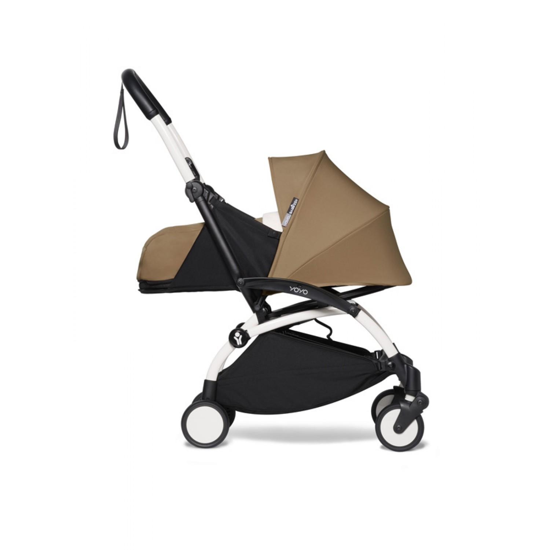 BABYZEN stroller YOYO2 0+  | White Chassis Toffee