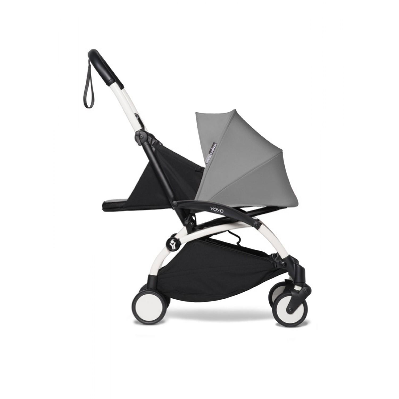BABYZEN stroller YOYO2 0+   White Chassis Grey