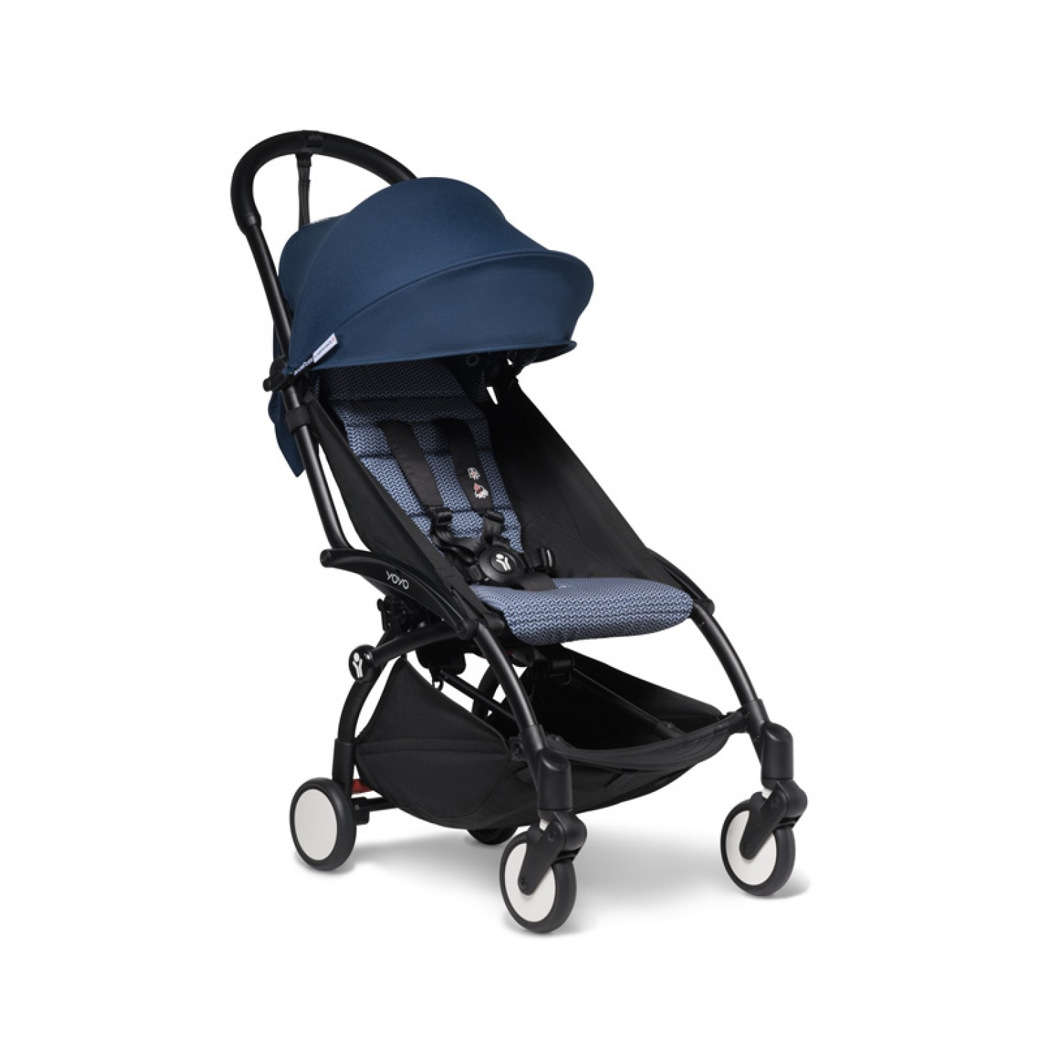 BABYZEN stroller YOYO2 6+ | Black Chassis Air France