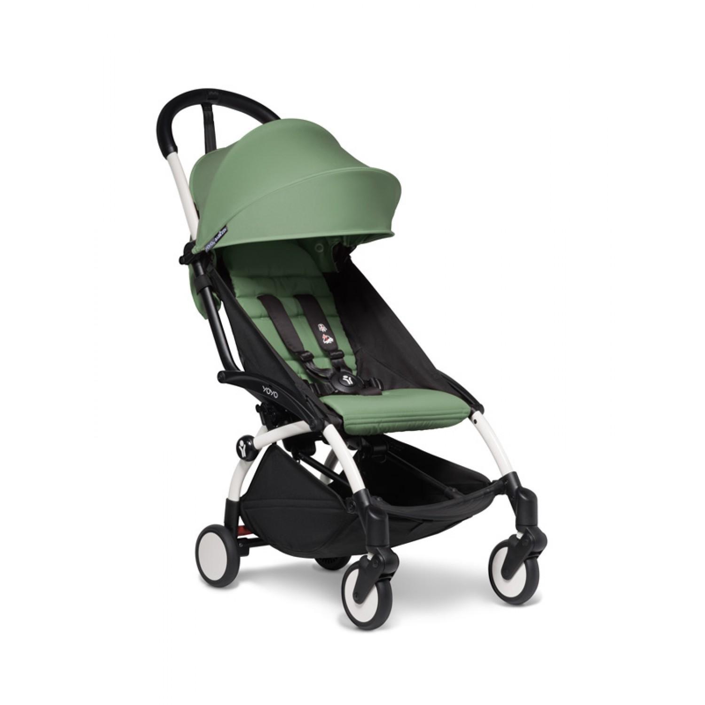 BABYZEN stroller YOYO2 6+ | White Chassis Peppermint