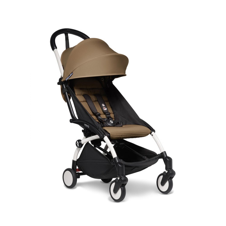 BABYZEN stroller YOYO2 6+ | White Chassis Toffee