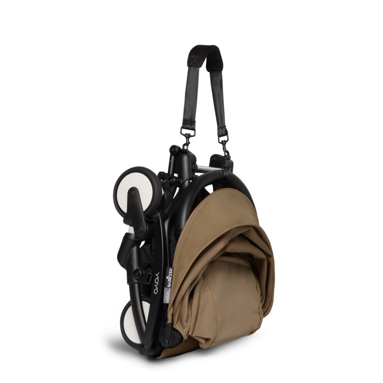 BABYZEN stroller YOYO2 6+ | Black Chassis Toffee