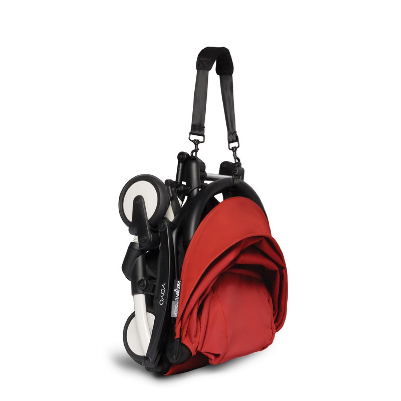 BABYZEN stroller YOYO2 6+ | White Chassis Red