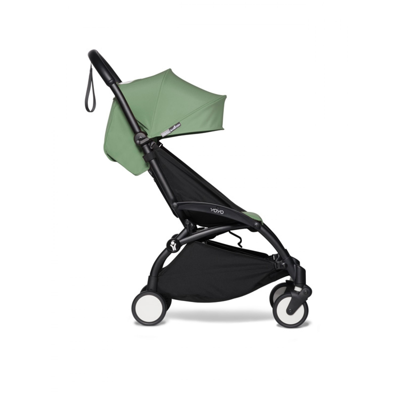 BABYZEN stroller YOYO2 6+ | Black Chassis Peppermint