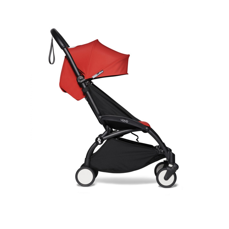 BABYZEN stroller YOYO2 6+ | Black Chassis Red