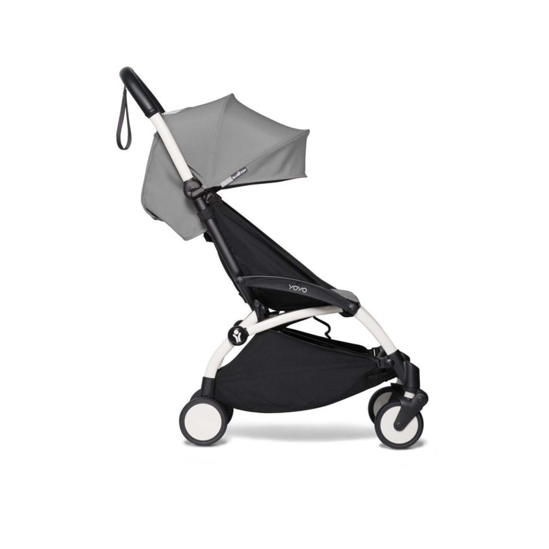 BABYZEN stroller YOYO2 6+ | White Chassis Grey