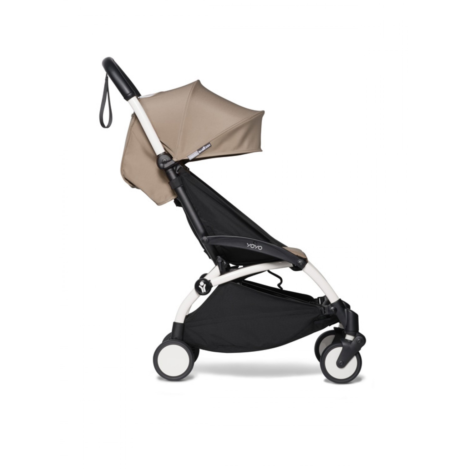 BABYZEN stroller YOYO2 6+ | White Chassis Taupe