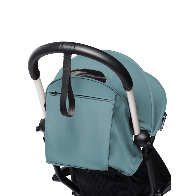 BABYZEN stroller YOYO2 6+ | White Chassis Aqua