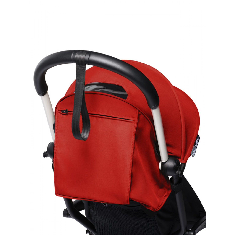 BABYZEN stroller YOYO2 6+   White Chassis Red