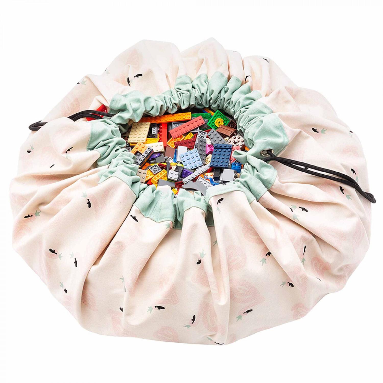 Swan toy storage bag