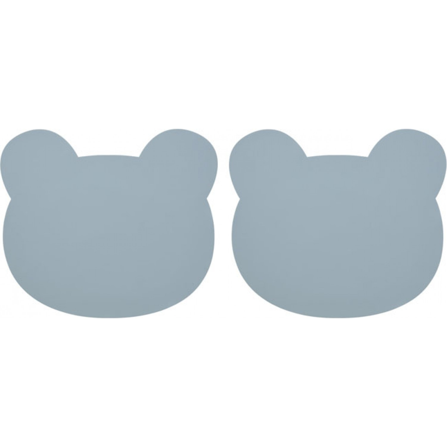 Gada placemat 2-pack | Bear Sea Blue