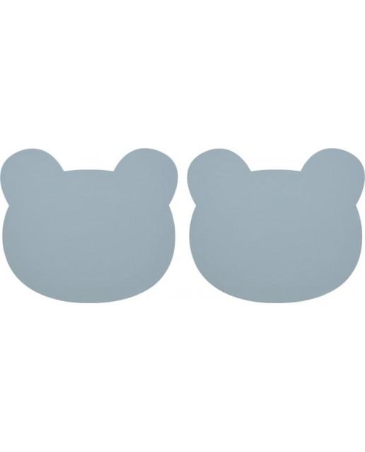 Gada placemat 2-pack | Bear Sea Blue