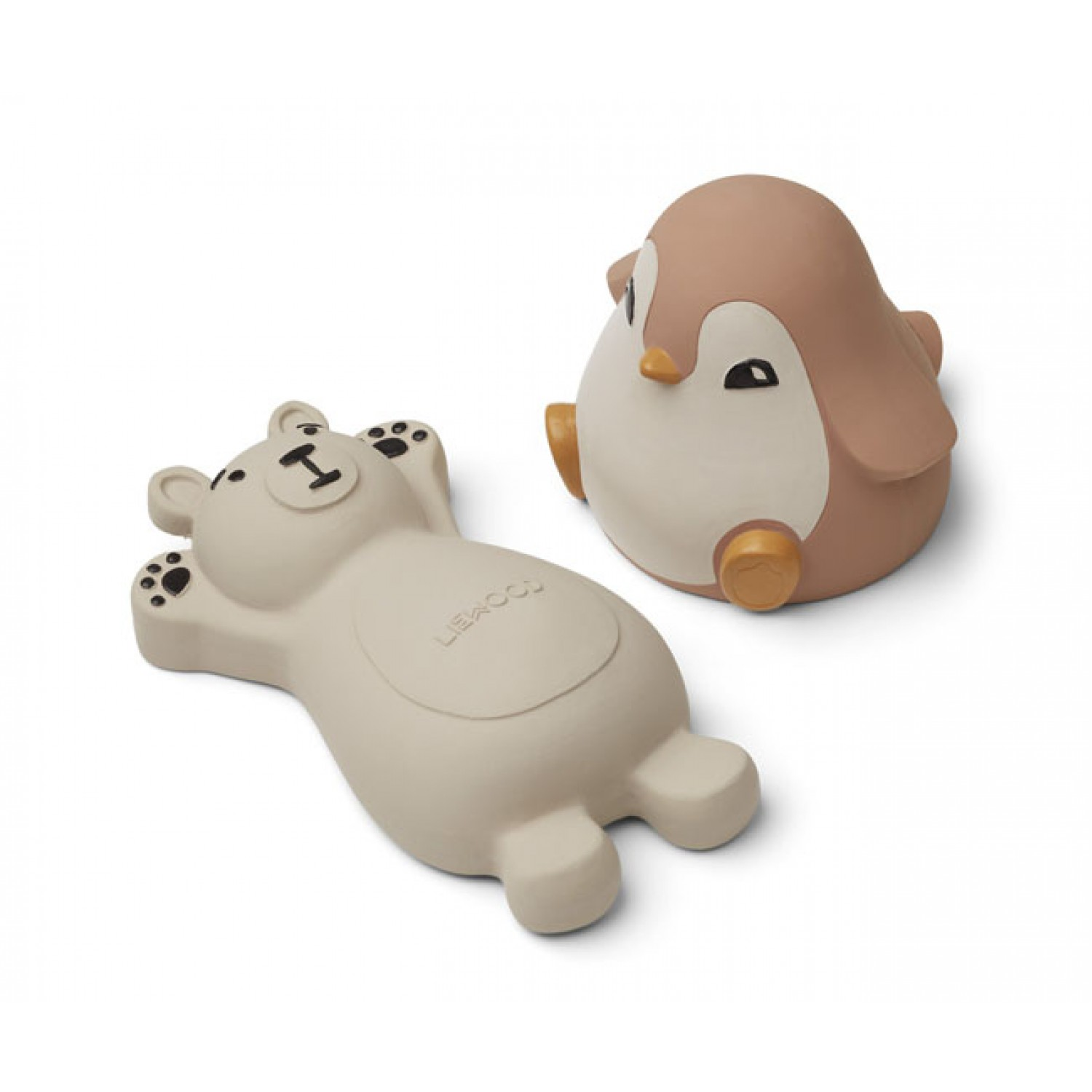Knud bath toys - 2 pack | Rose Mix
