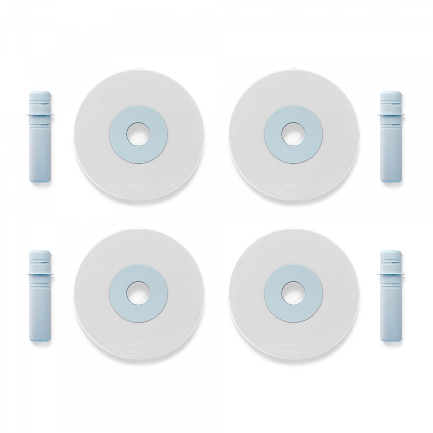 MODU 4 x Foam Wheels | Blue
