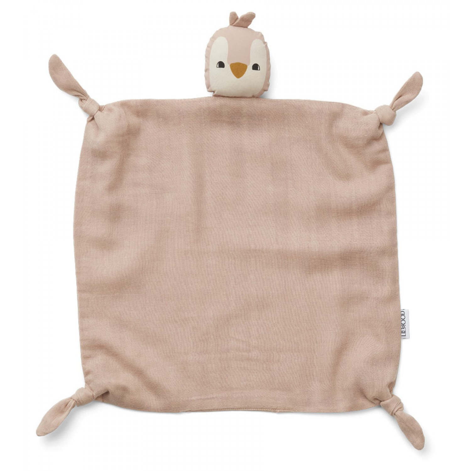 Agnete Cuddle Cloth | Penguin rose