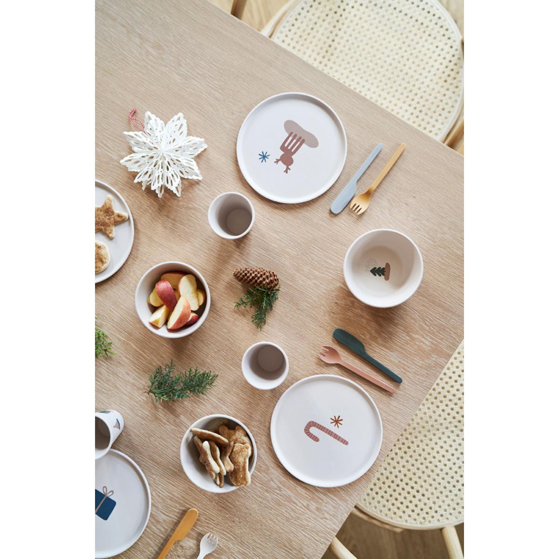 Patrick Bamboo Plates 6 Pack | Holiday mix