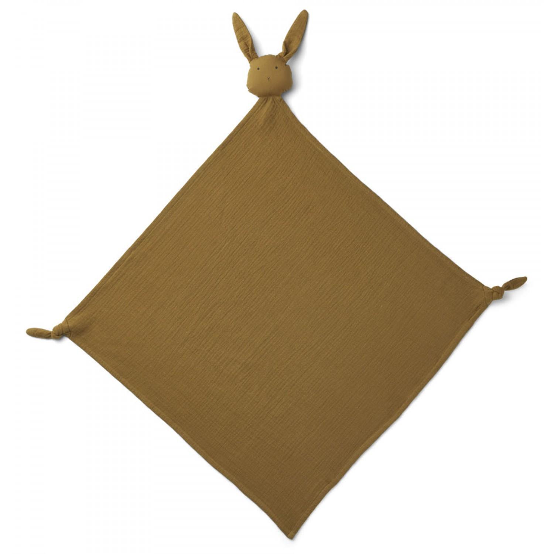 Robbie Multi Muslin Cloth | Rabbit Olive Green