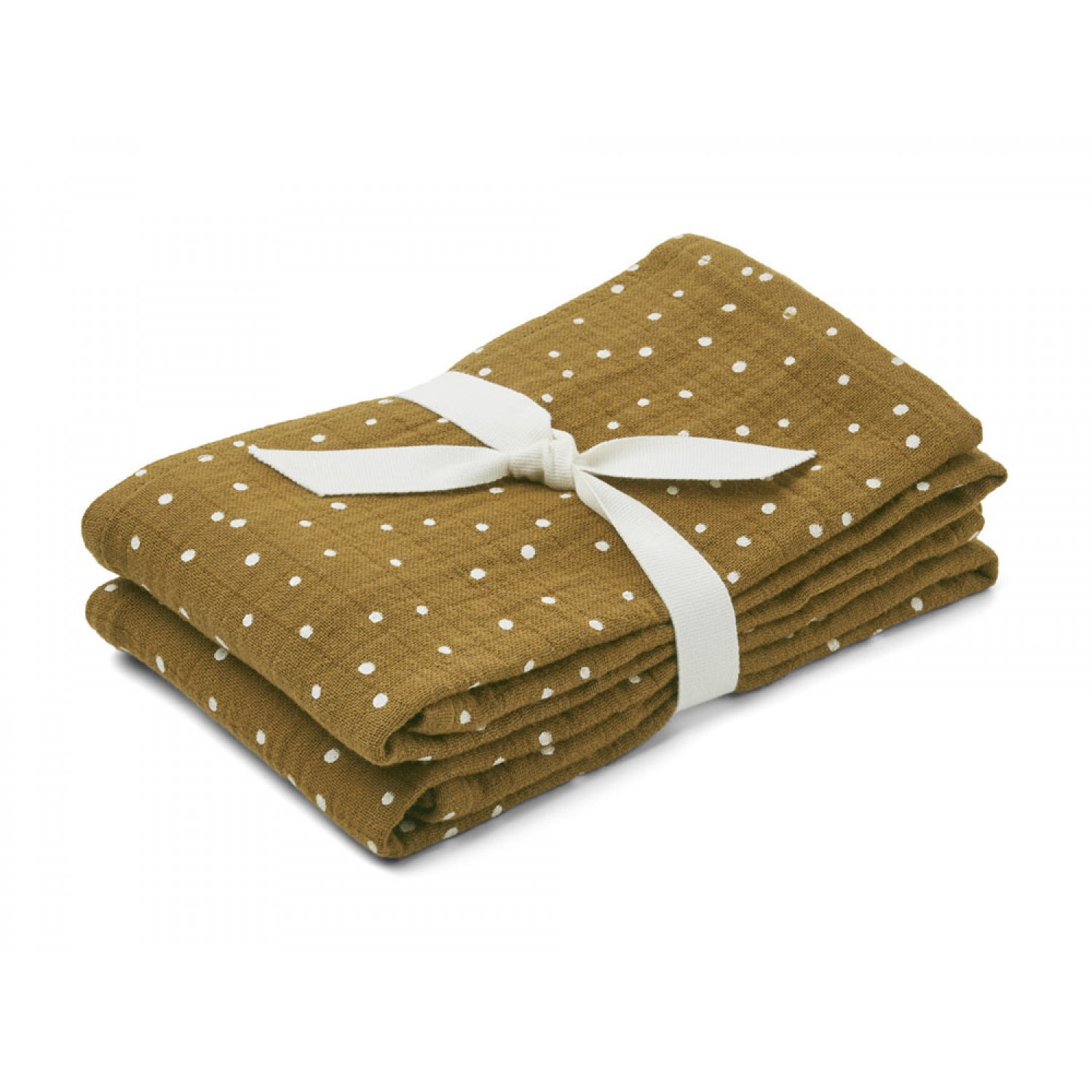 Lewis Muslin Cloth 2 Pack | Confetti olive