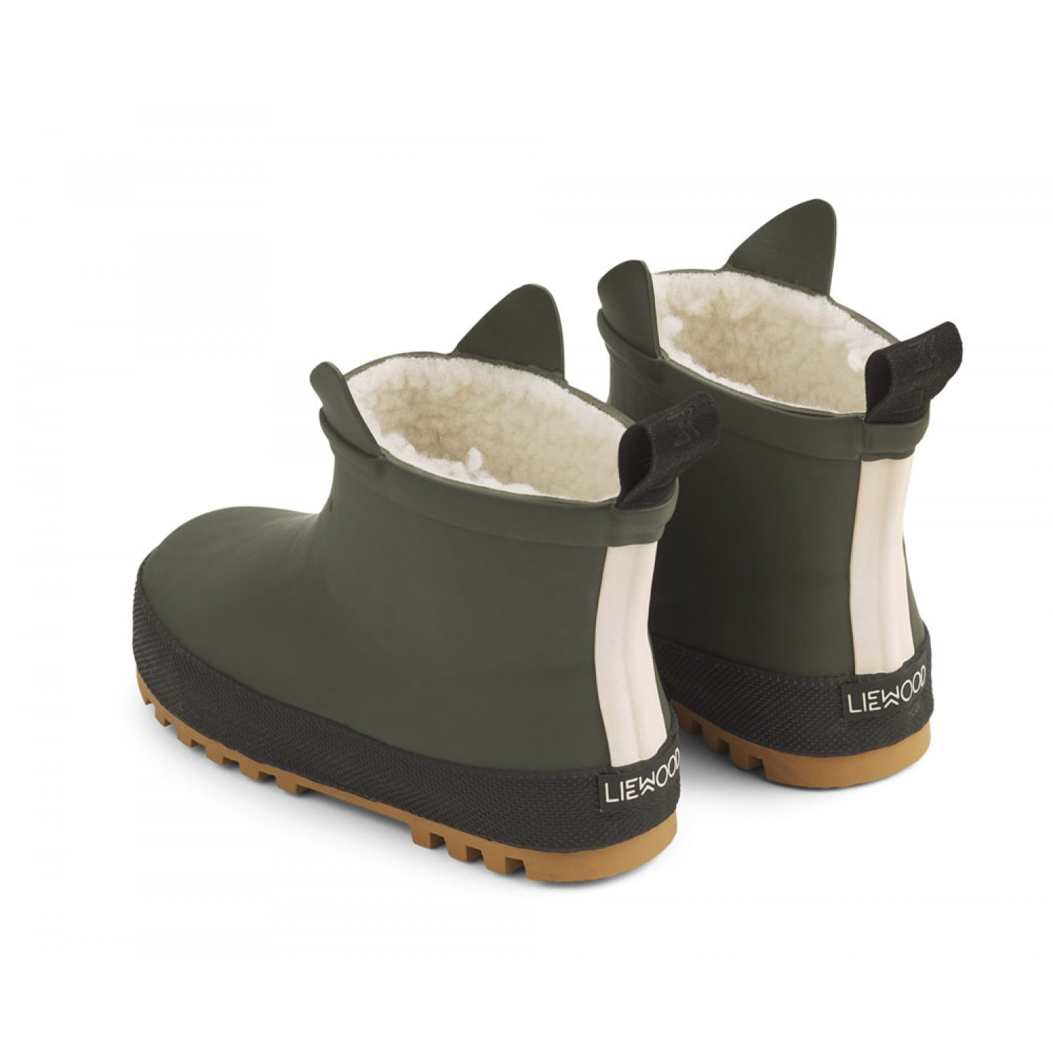 Jesse Thermo Rain Boot | Hunter green/black mix