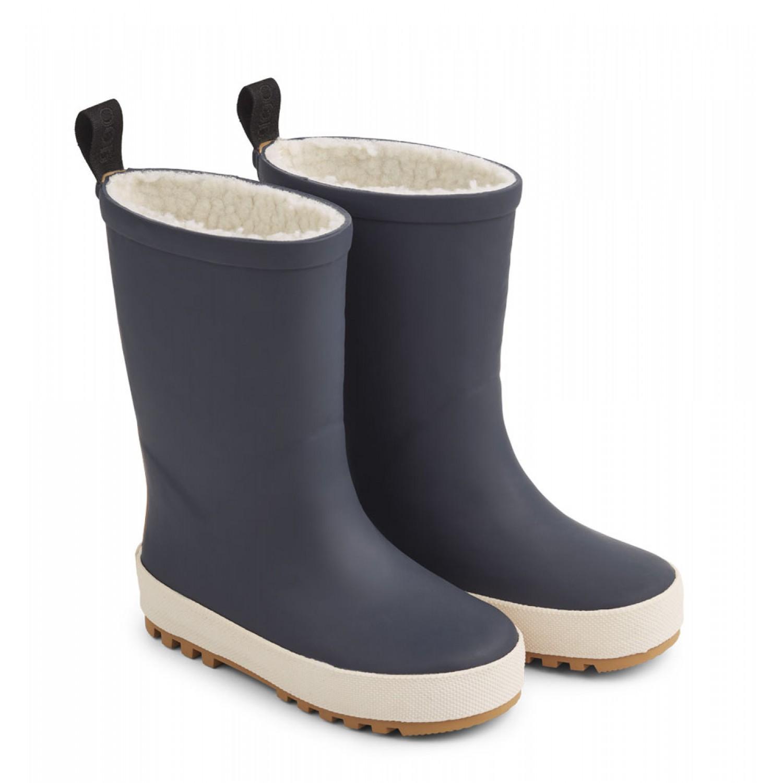 Mason Thermo Rain Boot   Navy/creme de la creme mix