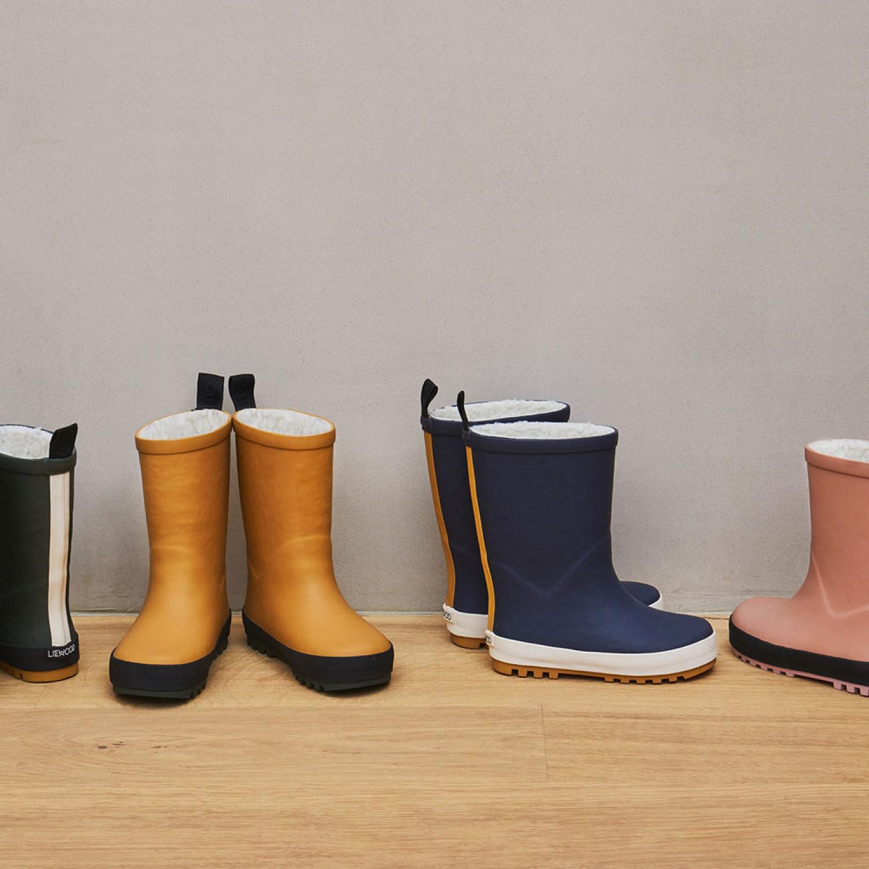 Mason Thermo Rain Boot | Mustard/black mix