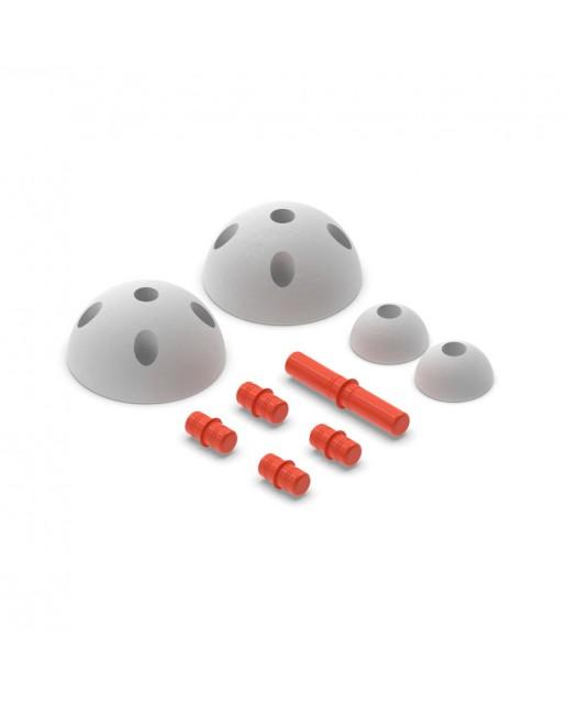 MODU Half Balls | Red