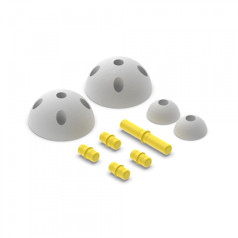 MODU Half Balls | Yellow