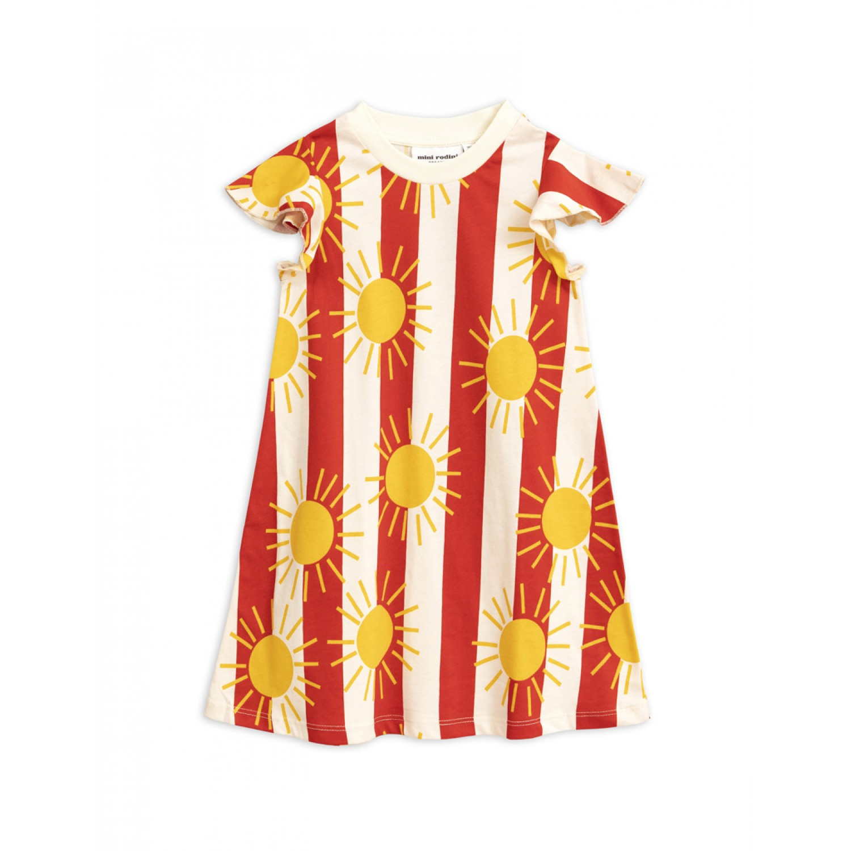 SUN STRIPE WING DRESS