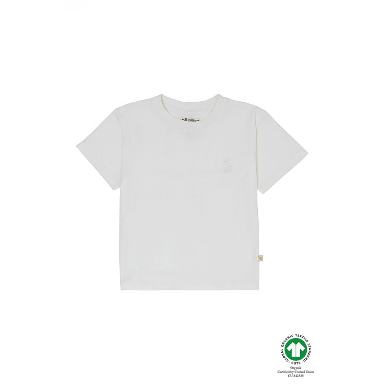 Asger T-shirt  White SOFT GALLERY