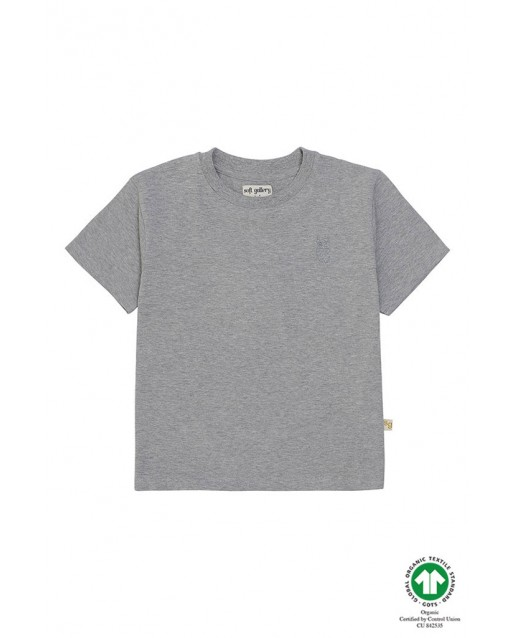 Asger T-shirt Grey Melange SOFT GALLERY