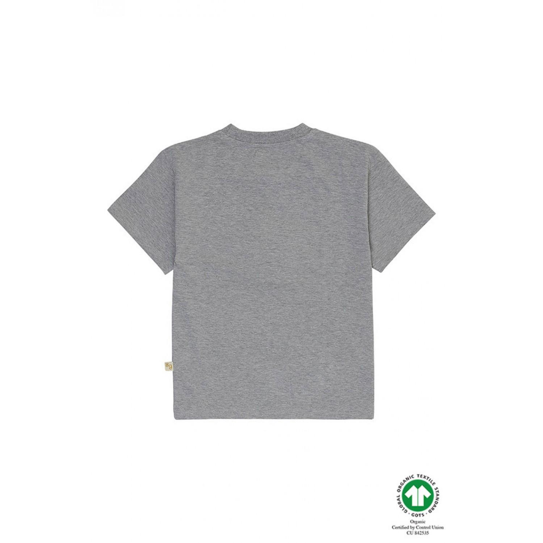 Asger T-shirt Grey Melange SOFT GALLERY