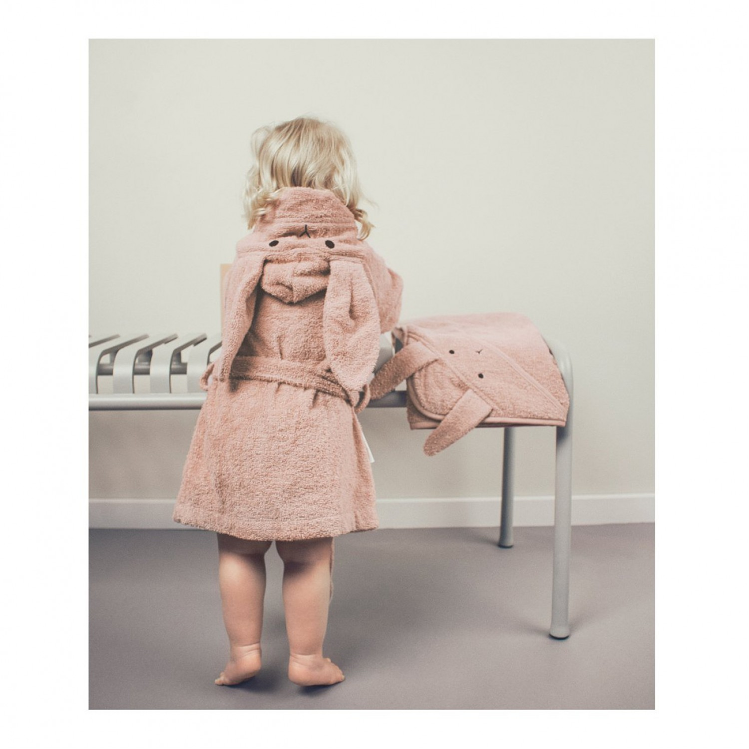 LILY BATHROBE | RABBIT ROSE