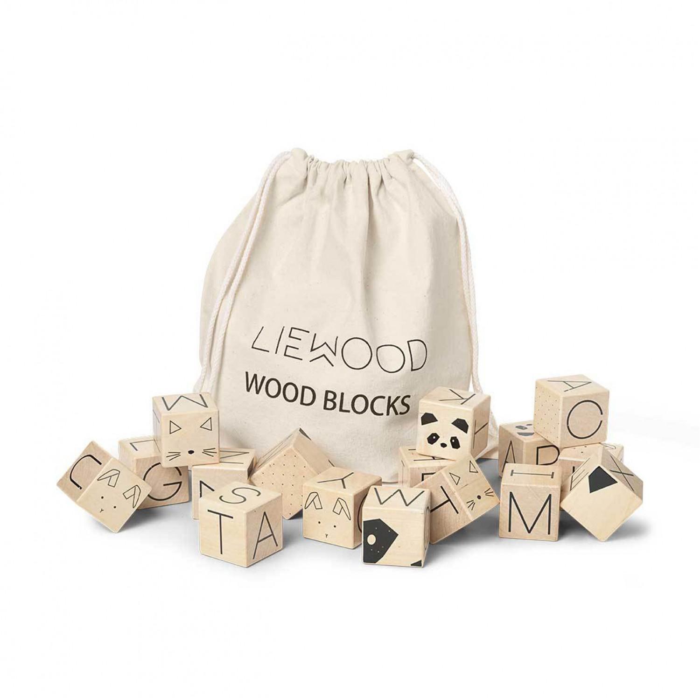 WOOD BLOCKS - NATURAL