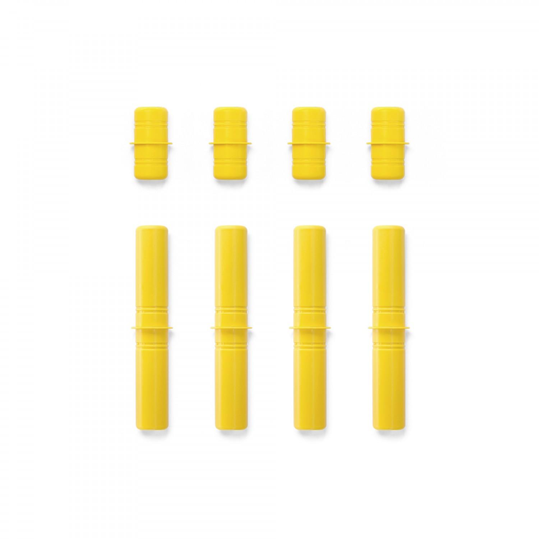 MODU Pegs Yellow - set of 8