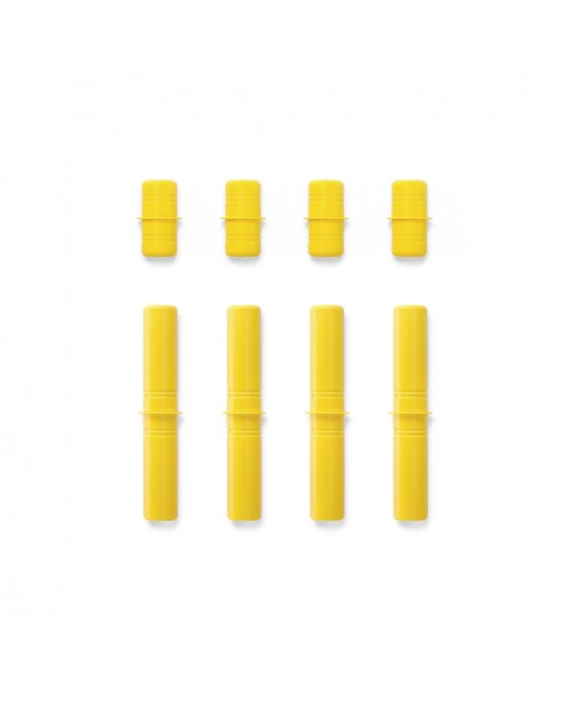 MODU Pegs Yellow - set of 8